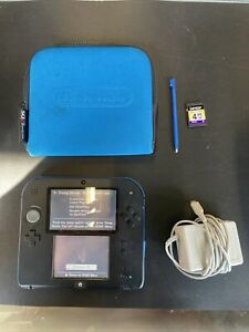 Nintendo 2DS Handheld System Console + Stylus Pen + Charger