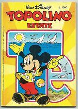 TOPOLINO ESTATE - Suppl. a Almanacco di Topolino n.331 - Luglio 1984* Da EDICOLA