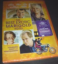The Best Exotic Marigold Hotel (DVD 2012) NEW Judi Dench Maggie Smith Bill Nighy