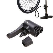 MTB Bicyle Bike Replacement Track Pump Dual Head Adapter Valve Schrader/Presta