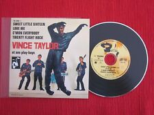 CD SINGLE EP VINCE TAYLOR SWEET LITTLE SIXTEEN LOVE ME