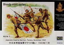 Master Box 1/35 Marines imperial japonés Tarawa # 3542 de noviembre de 1943
