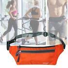 Outdoor Sport Bum Bag Fanny Pack Travel Waist Money Flexible Belt Zip Pouch ❀A