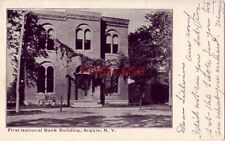 FIRST NATIONAL BANK BUILDING, ARGYLE, N.Y.