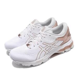 Asics Gel-Kayano 26 Platinum White Rose Gold Women Running Shoes 1012A749-100