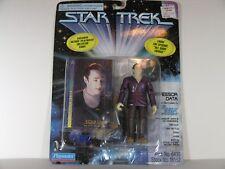 "Star Trek TNG Professor Data 4.5"" Action Figure W/Collector Card Playmates"