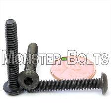 "#10-24 x 1-1/4"" - Qty 10 - BUTTON HEAD Socket Cap Screws Alloy Steel Black Oxide"