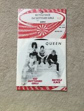 Queen bicycle race fat bottomed girls picture sleeve 45 1978 Classic Rock Record
