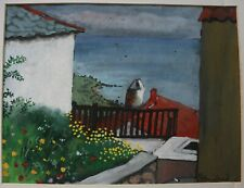 LOOKING OUT OVER THE COAST SIGNED STANILAND
