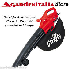 Soffiatore Aspiratore Aspirafoglie Elettrico Grizzly ELS 2614-2 E Potenza 2600 W