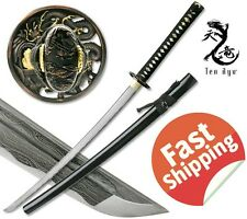 Samurai Katana Sword Battle Ready Japanese Folded Steel 1000 Layers Sharp Blade