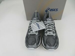 Asics Gel-Nimbus 19 Carbon/White/Silver T700N Athletic Shoes Mens Size 7.5 M