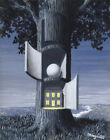 Rene Magritte The Voice Of Blood Canvas Print 16 x 20 # 4143