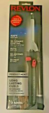 Revlon Long Lasting Curls 3X Ceramic Curling Iron New