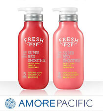 Amore Pacific Natural Fresh-pop Super Red Smoothie 500ml Shampoo+Conditioner