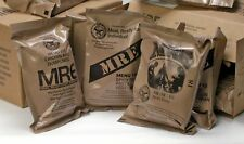 1 INDIVIDUAL GENUINE US MILITARY MRE - YOU CHOOSE - INSP 2022 MEAL READY TO EAT