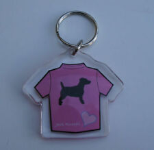 Jack Russell Terrier Collectables Plastic Key Rings