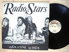 "Radio Stars Nervous Wreck Numbered UK 12"" T.Rex Chiswick NST23 1977 EX+"
