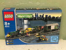 Lego Eisenbahn 9 Volt World City 4512 Güterzug Cargo Train NEU/NEW