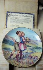 Beloved Hymens of Childhood #6 Plate Bradford Exchange 1989