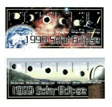 Maldives - Solar Eclipse - Imperf - Set of 2 sheets - Mnh