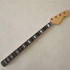 Maple 20 Fret Neck For Electric Jazz Bass Guitar Neck Parts Replacment Gloss