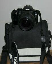 Fotocamera Canon EOS 350D reflex digitale + obiettivo borsa macchina fotografica