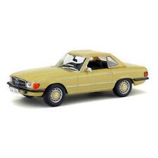 Mercedes 350 SL hardtop R107 1971 beige coche modelo 1 43 solido