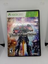 Transformers Rise Of The Dark Spark Xbox 360 Replacement Case Only