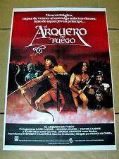 ARCHER AND THE SORCERESS Orig WARRIOR Movie Poster LANE CAUDELL BELINDA BAUER