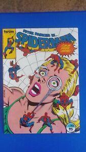 Spiderman #50, Reprints Spectacular Spider-Man #74 & 75, Spain, Comics Forum!
