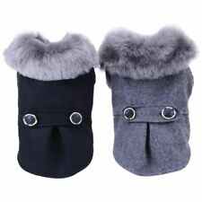 Poodle Winter Warm Dog Coat Jacket With Fur for Small Dogs Pets Yorkie Beagles