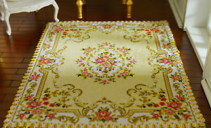 Customize Your Own Size & Pattern Dollhouse Miniature Rug 1:12 1:6 1:3 1:4