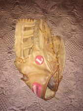"Louisville Slugger Baseball Mitt Gaps-7 13.5"" Missing Some Lacing As Is"