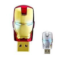 2TB 256GB USB 2.0 Flash Drive Memory Stick Pen U Disk Key Thumb PC Metal Man UK