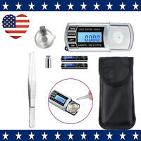 Digital Cartridge Stylus Tracking Force Scale Gauge +Extra tray +10g Weight +Bag