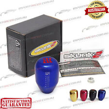 5 SPEED MANUAL GEAR SHIFT KNOB BLUE M10x1.25 SKUNK2 RACING 1 Year Warranty