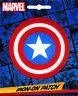 Marvel Comics Iron On Patch: Captain America Shield Logo