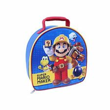 Lunch Bag Insulated Super Mario Maker Nintendo Wii NEW