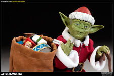 STAR WARS~HOLIDAY~YODA~SANTA MASTER~SIXTH SCALE FIGURE~EXCLUSIVE~SIDESHOW~MIB