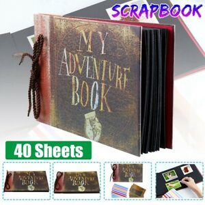 Our Adventure Book Up Movie Pixar Album Travel Photo Scrapbook Memory Vintage AU