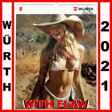 WURTH GIRLS 2021 Würth Kalender Sexy Photo Wall Calendar Calendrier Calendario