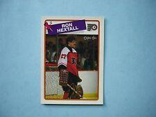 1988/89 O-PEE-CHEE NHL HOCKEY CARD #34 RON HEXTALL NM SHARP!! 88/89 OPC