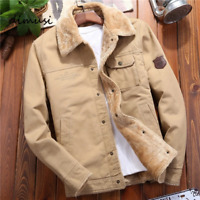 DIMUSI Winter Mens Bomber Jackets Casual Man Fleece Thick Warm Windbreaker Jacke