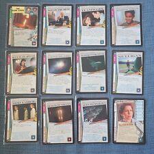 X-Files CCG Card Game Promo (Mulligan, Fighter Interceptor, Alien Technology +)
