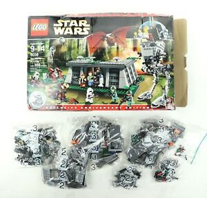 Lego Star Wars 8038 The Battle of Endor INCOMPLETE Bags 2 & 3 AT-ST w/ Box