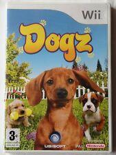 DOGZ NINTENDO Wii GAME CHILDRENS DOGS ANIMALS GAME brand new & sealed RARE UK