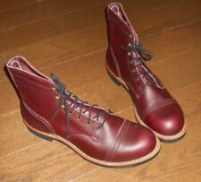 """Red Wing Heritage 8119 6"""" Iron Ranger Lug Oxblood Mesa Leather Boots Size 12 D"""