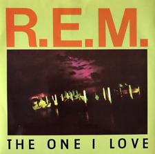 """R.E.M. - The One I Love (7"""") (EX-/EX-)"""