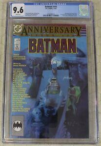 BATMAN #400 (1940) CGC 9.6 Anniversary Issue !!